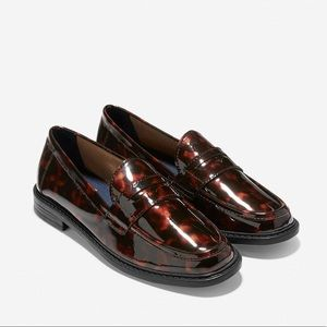 Cole Haan Pinch Campus Tortoise Patent Loafer
